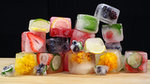 Dress Up Your Ice Cubes With Fruit and Flowers