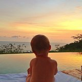 Vivian Brady soaked up a stunning sunset in Costa Rica. Source: Instagram user giseleofficial