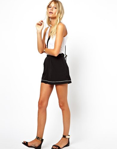 ASOS Shorts with Contrast Piping