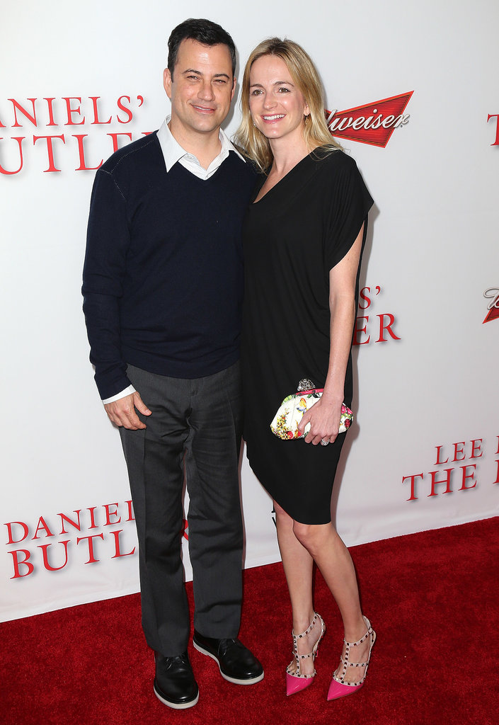 Jimmy Kimmel and Molly McNearney attended the premiere.