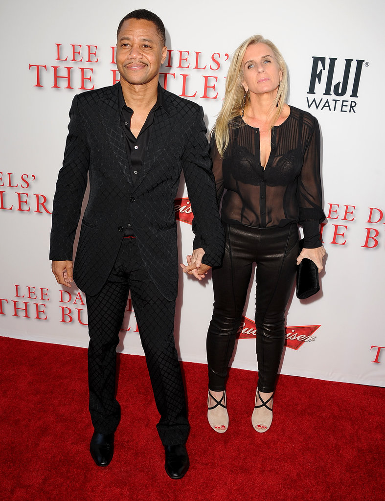 Cuba Gooding Jr. and his wife, Sara Kapfer, walked the red carpet.