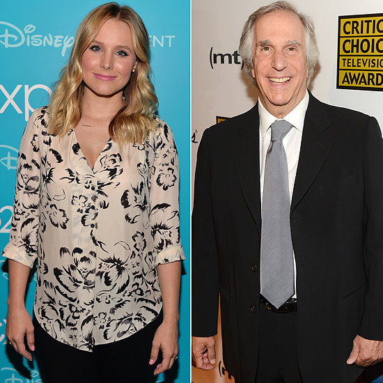 Kristen Bell will star on Parks and Recreation as Leslie Knope's Eagleton rival. Meanwhile, Henry Winkler will play Jean-Ralphio's father in the premiere and potentially future episodes. Ron and April are also getting Eagleton enemies: Sam Elliot is the anti-Ron and June Diane Raphael will go up against Aubrey Plaza. Also, Orphan Black's Tatiana Maslany will have a guest arc as a love interest for Tom.