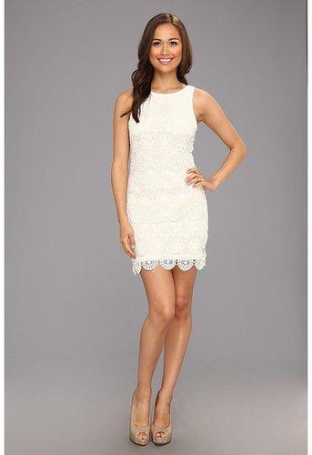 Sanctuary - Lace Shift Dress (White) - Apparel