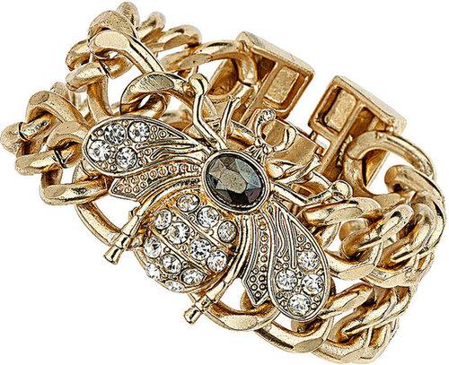 Curb Chain Bug Bracelet