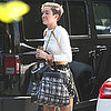 Miley Cyrus Wears Platform Sneakers in LA
