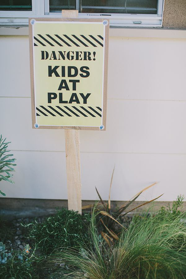 Danger! Kids at Play!
