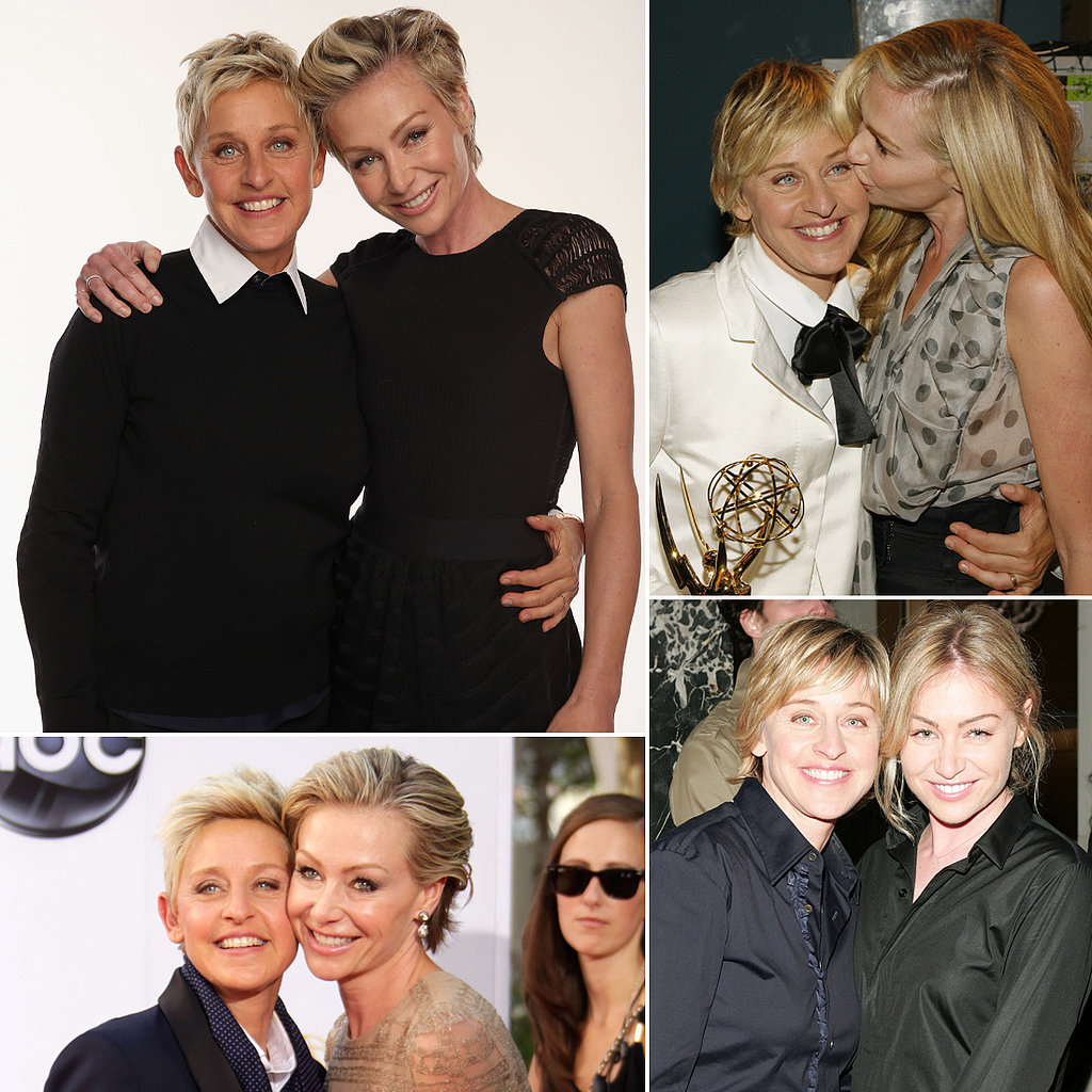 Ellen DeGeneres and Portia de Rossi Are One Cute Couple