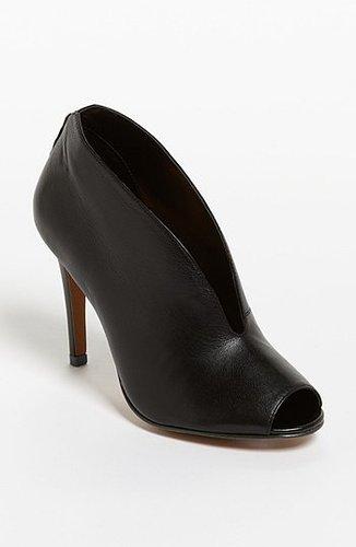 Halogen 'Katrina' Bootie Womens Black Leather Size 11 M 11 M