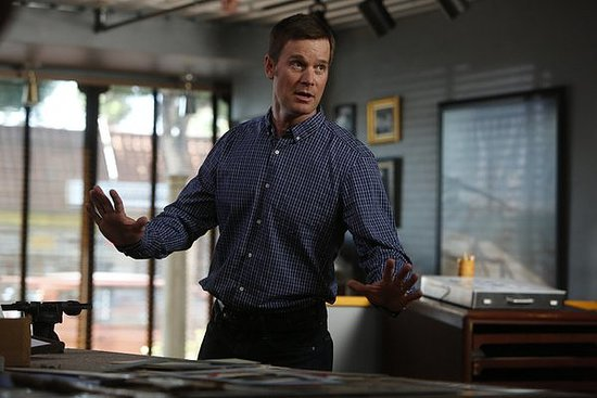 Adam (Peter Krause) on Parenthood.