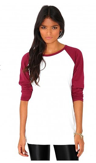 This MissGuided Kartea raglan