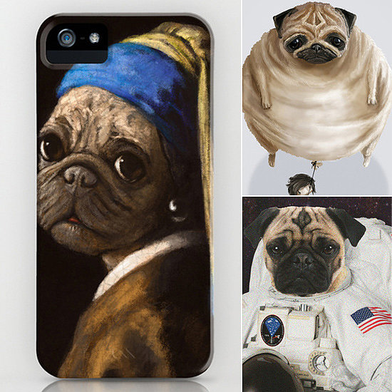 Pug Hugs For Your iPhone