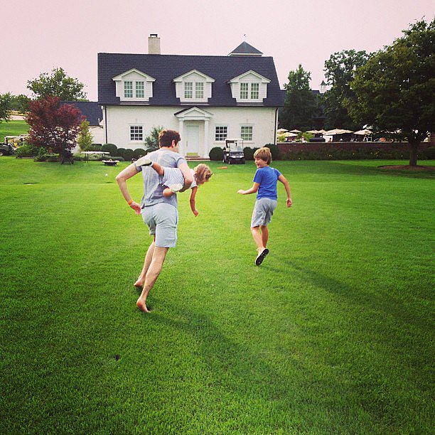 Arabella Kushner got caught up in an epic chase with her dad. Source: Instagram user ivankatrump