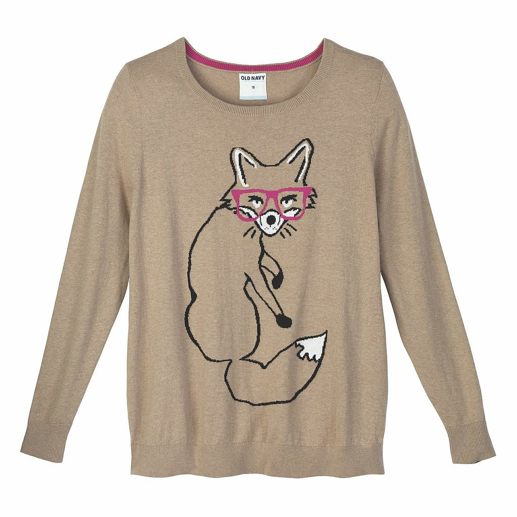 Old Navy's foxy knit ($35) is practically guaranteed to make your entire outfit totally adorable!