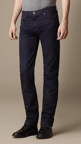 Körperbetonte, leichte Steadman-Jeans aus Selvedge Denim