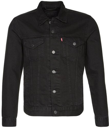 Levi's® THE TRUCKER Jeansjacke schwarz