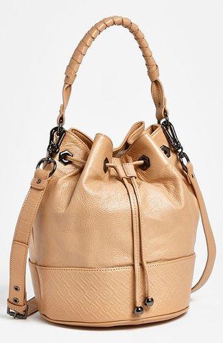Sloane and Alex 'Sophia' Bucket Bag Black