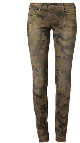 Cimarron JACKIE Jeans Slim Fit gold/cam kaki