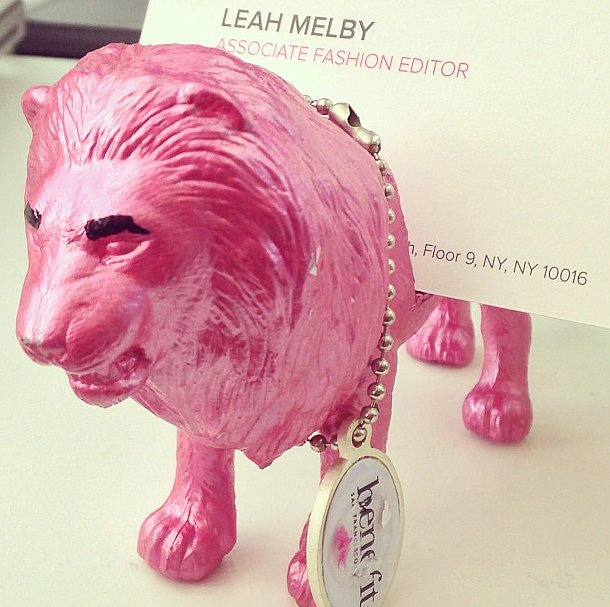 What, your business-card holder isn't a hot-pink lion?