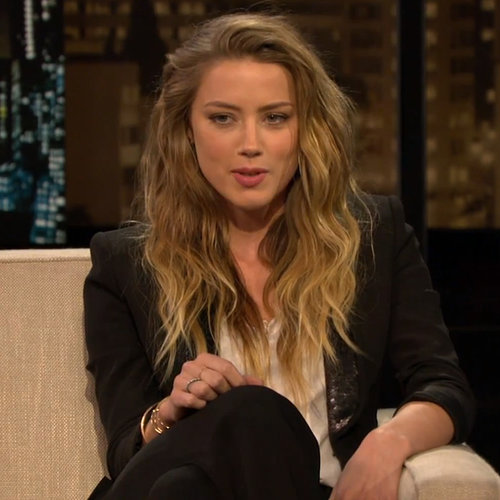Amber Heard's Chelsea Lately Interview | Video
