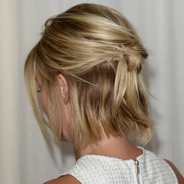 Half and Half: Whose Knotted Updo Did You Like Best? | PopSugar | Pinterest Picks - Delicate Hairstyles to Try this Spring