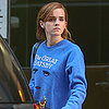Emma Watson Wearing a Great Gatsby Sweatshirt