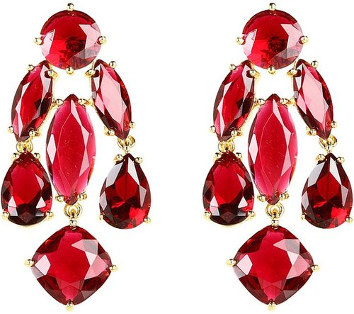 Kate Spade New York - Kate Spade Statement Earrings (Clear) - Jewelry