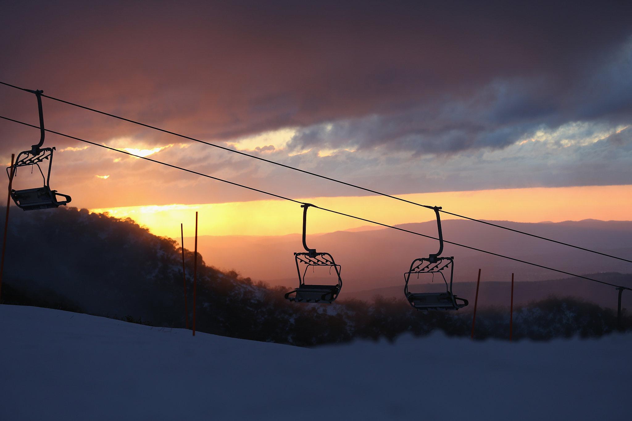 Sunset on the Slopes