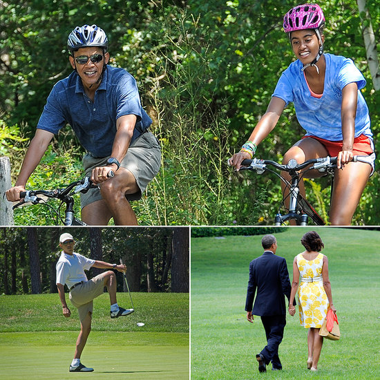 The Obamas Have a Pretty Normal Family Vacation