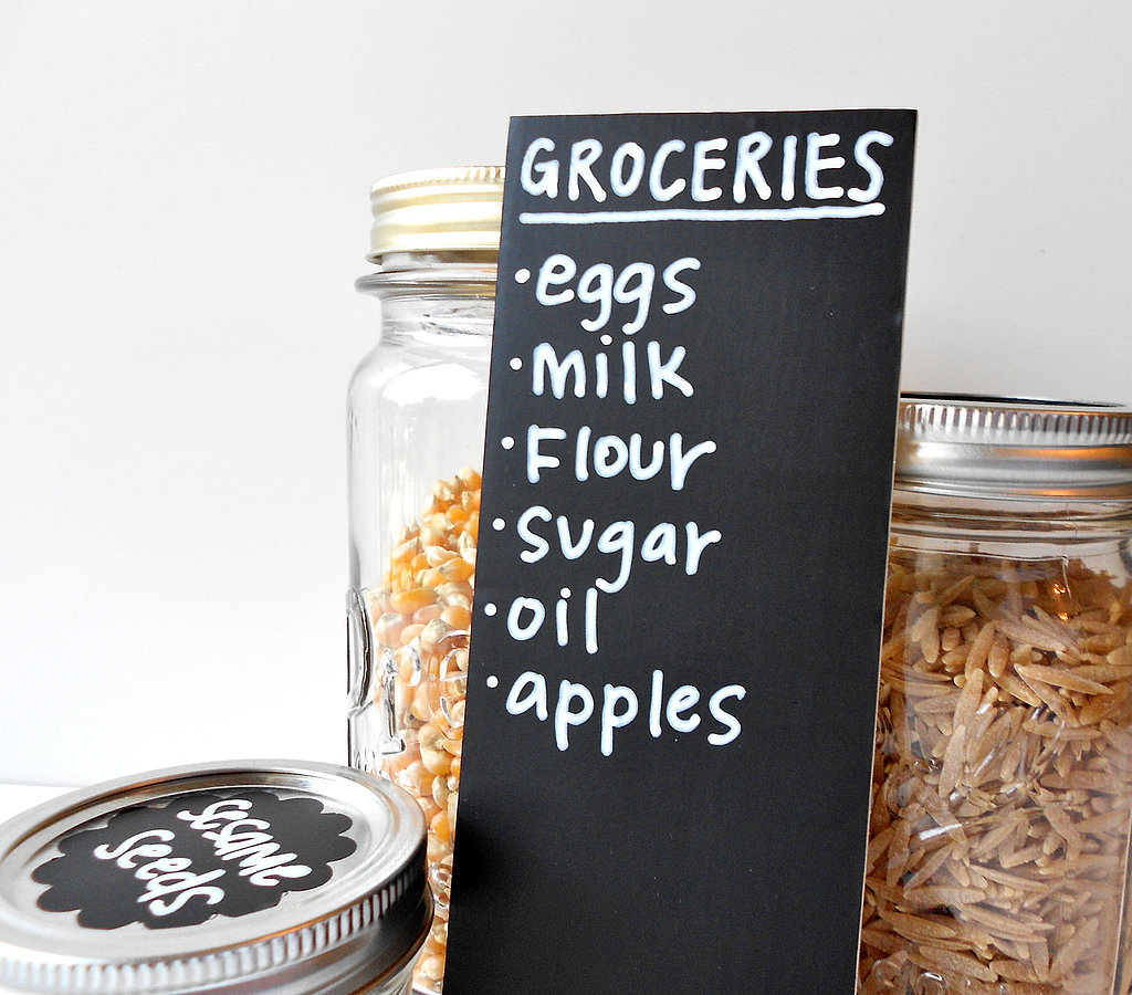 Chalkboard Grocery List