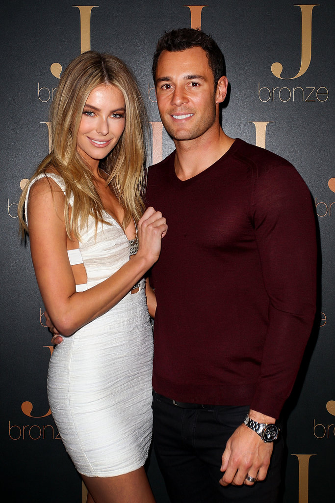 Jennifer Hawkins and Jake Wall