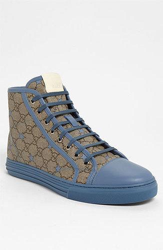 Gucci 'California Hi' Sneaker Blue/ Beige 10US / 9UK M