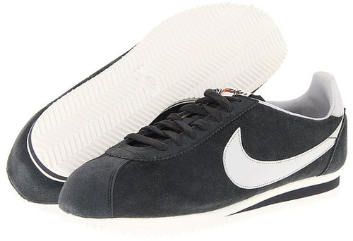 Nike - Classic Cortez SE (Vintage) (Anthracite/Sail/Neutral Grey) - Footwear