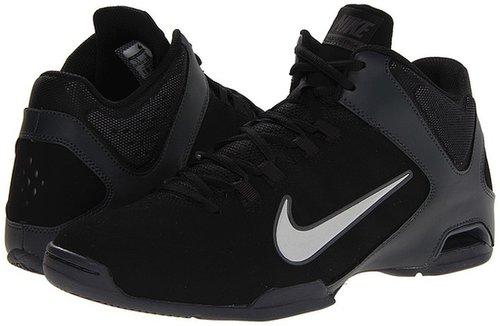 Nike - Air Visi Pro IV - Nubuck (Black/Anthracite/Emboss Natural/Medium Grey) - Footwear