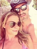 LeAnn Rimes took a sweet snap with Eddie Cibrian. Source: Twitter user leannrimes