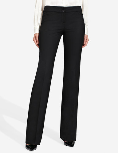 Cassidy Piped-Waist Bootcut Pants