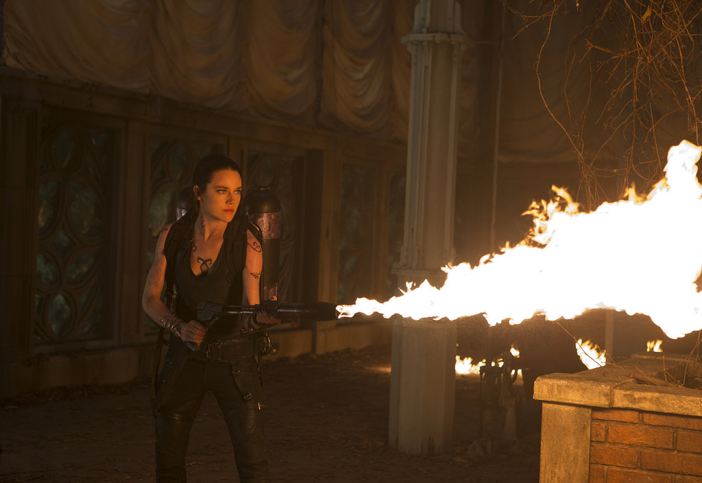 Jemima West in The Mortal Instruments: City of Bones.