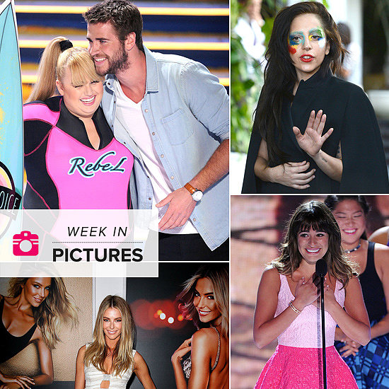 The Week in Pictures: Rebel & Liam, Gaga's New Look, Lea Returns & More!