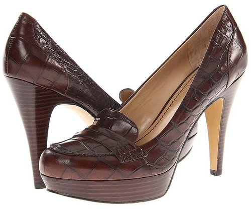 Nine West - Abalene (Black Leather) - Footwear