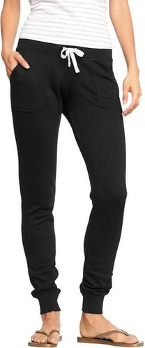 Women's Drawstring-Skinny Sweatpants