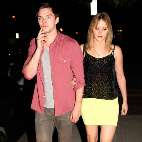 Jennifer Lawrence and Nicholas Hoult Together in Canada