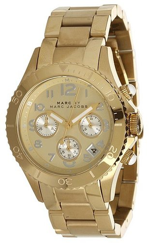 Marc by Marc Jacobs - MBM3188 - Rock Chronograph (Gold) - Jewelry