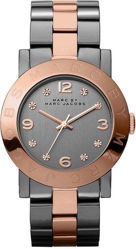 Marc by Marc Jacobs Watch, Women's Two-Tone Stainless Steel Bracelet 36mm MBM8597
