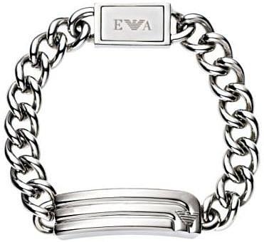 Emporio Armani stainless steel chain bracelet