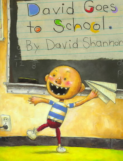 David Goes to School (PreK +)