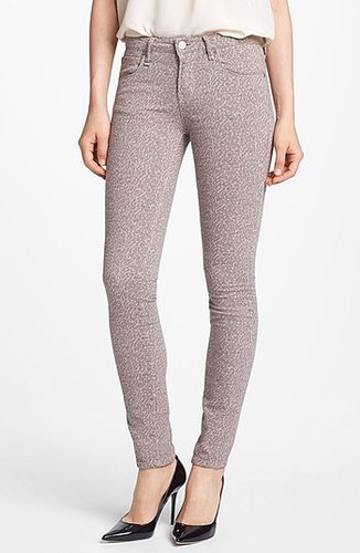 MARC by Marc Jacobs 'Gaia' Super Skinny Jeans Womens Vintage Rose Jacquard Size 25 25
