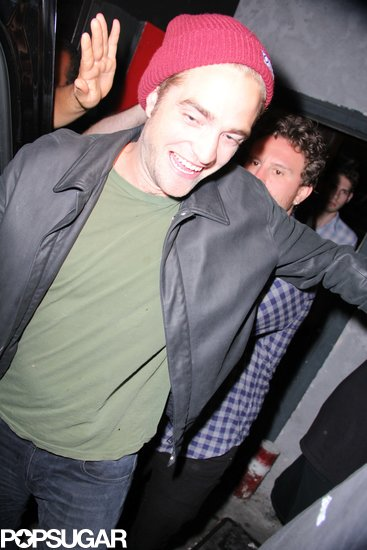 Robert Pattinson had a night out at The Troubadour in Hollywood.