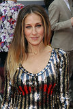 Her hair has swung from full-on blond to slightly brunette, but Sarah Jessica Parker's light ombré locks are a great mix of her flaxen strands and her slightly darker shades.