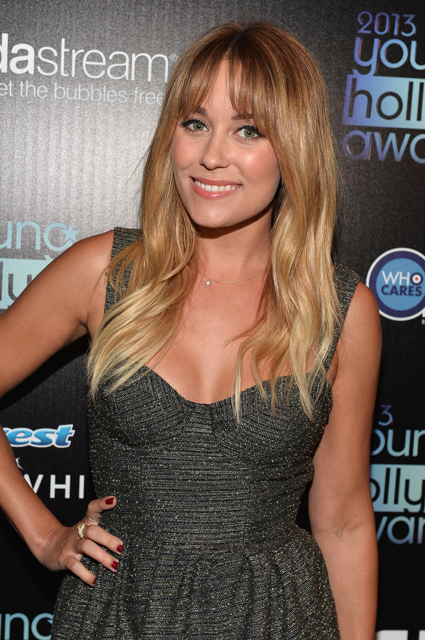 Think ombré is just for brunettes? Lauren Conrad blows that theory right out of the water with her gradient-blond hair.