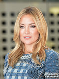 The depth of Kate Hudson's blond hair comes from her impeccable highlights, which are lighter just around her face.