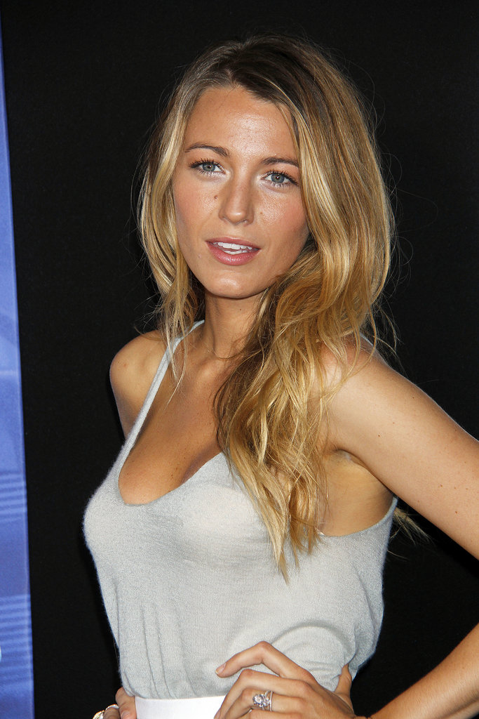 Blake Lively's enviable blonde strands always seem be styled in the most gorgeous, effortless waves.